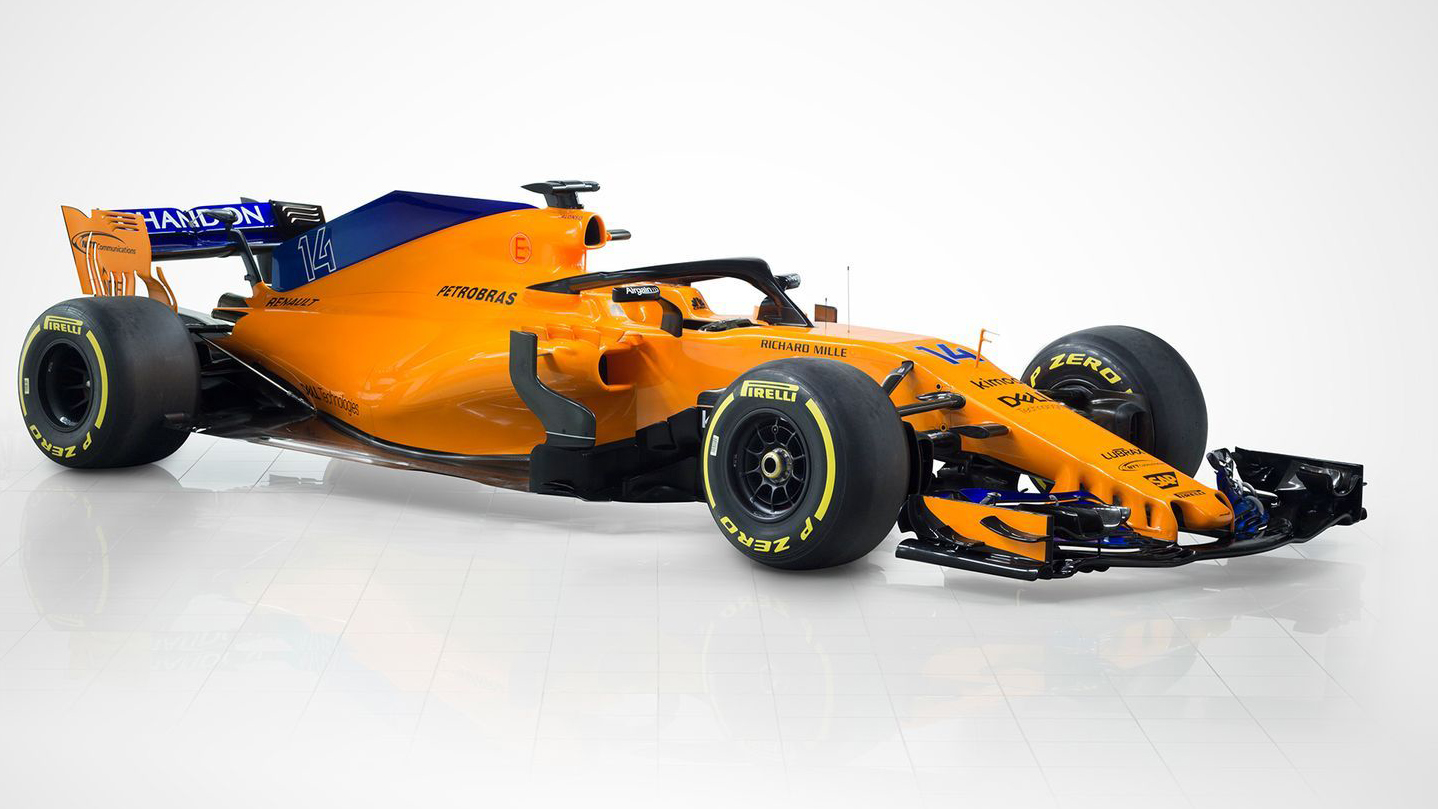 """McLaren desveló el MCL33, el nuevo monoplaza """"naranja y azul"""" de Alonso"""