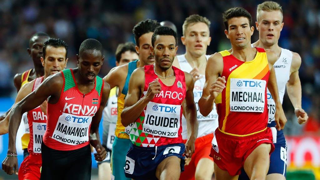 Mechaal, finalista en 1.500m