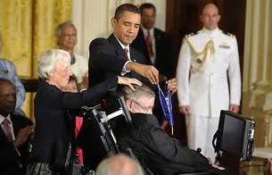 Obama otorga las Medallas de la Libertad 2009