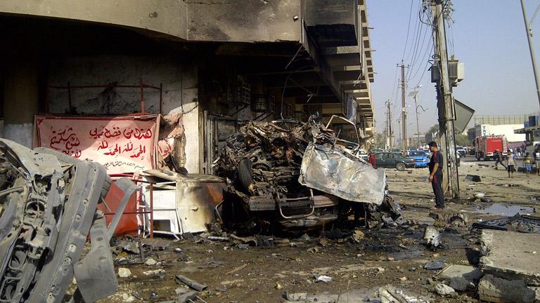 Medio centenar de muertos en una cadena de atentados en varias localidades de Irak