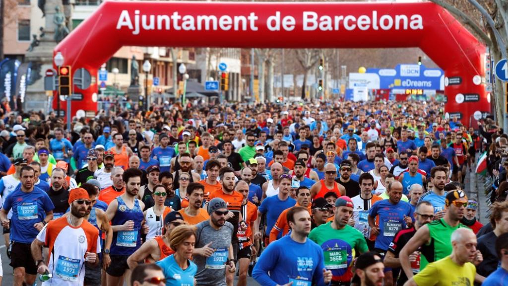 Atletismo - Medio Maratón Barcelona 2019 Resumen