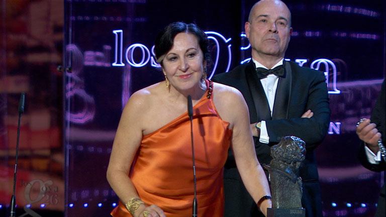 Mejor canción original - Premios Goya 2012