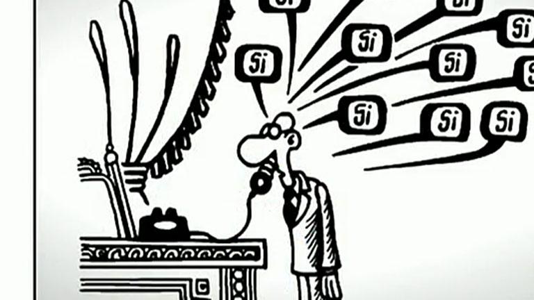 Un libro reúne los mejores chistes de Forges en 50 años