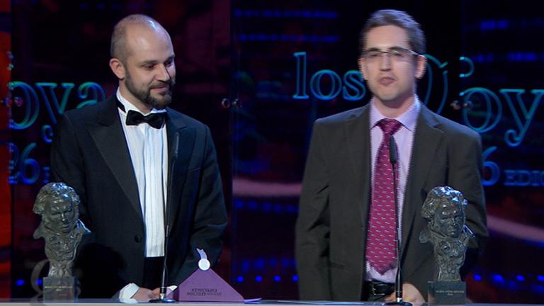 Mejores efectos especiales -  Premios Goya 2012