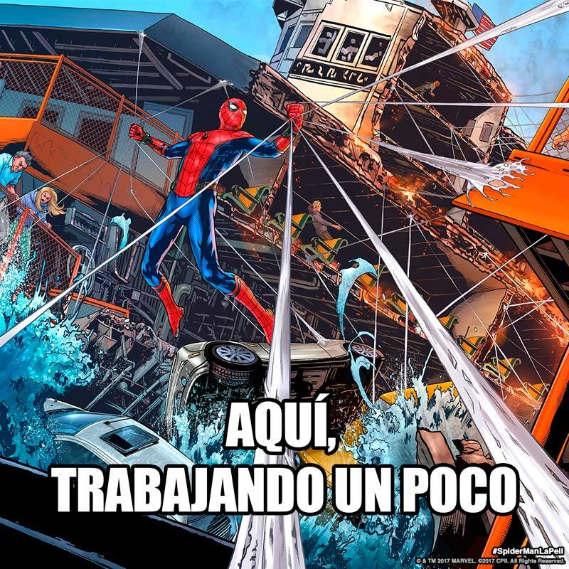 Meme de 'Spider-Man Homecoming' #SpiderManHomecoming