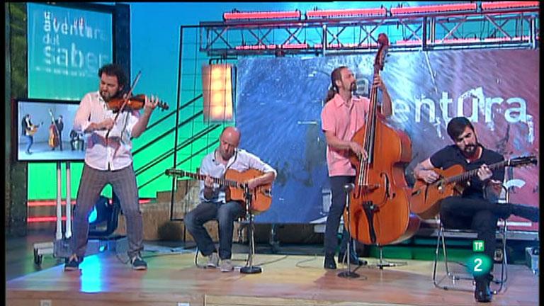 La Aventura del Saber. TVE. Grupo de música Menil