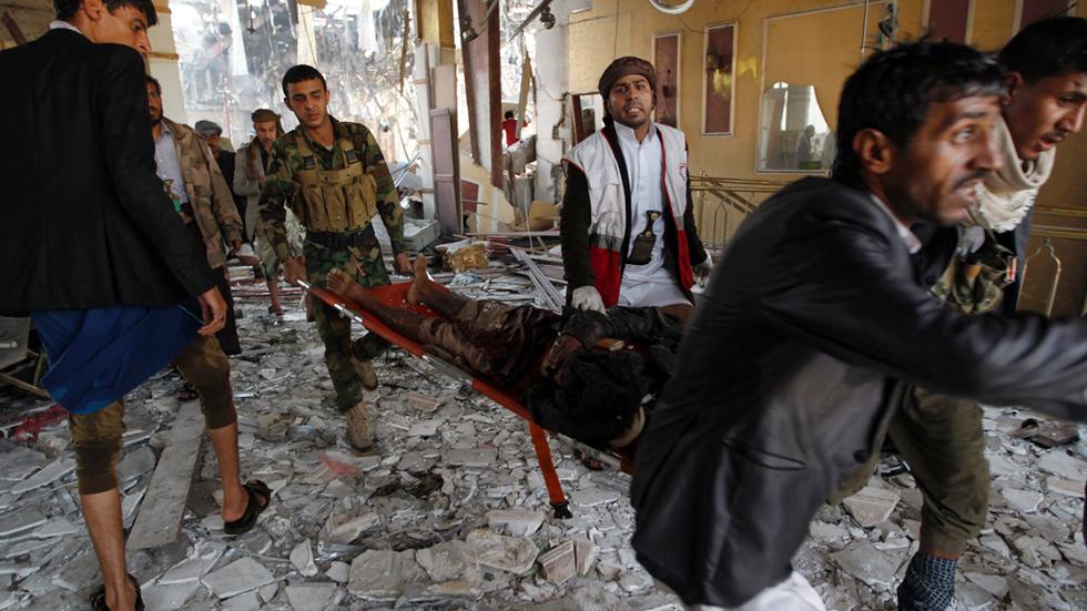Al menos 140 muertos en un bombardeo en Yemen