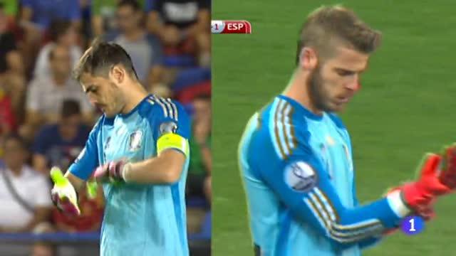 Menos de 24 horas para saber si De Gea releva a Casillas en la portería de la Roja