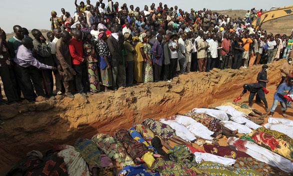 Al menos 500 personas murieron tras los enfrentamientos religiosos el pasado domingo
