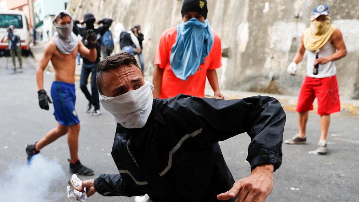 Al menos cuatro muertos durante las manifestaciones contra el gobierno venezolano