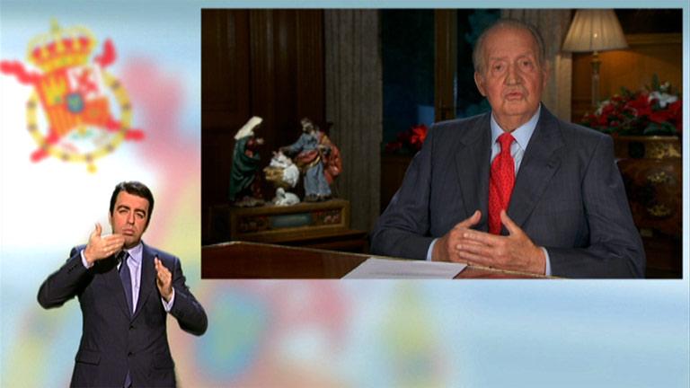 Mensaje de Navidad de Su Majestad el Rey de 2013, en lengua de signos