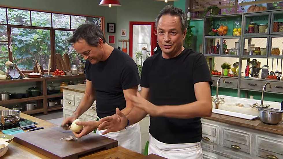 Torres en la cocina - Menuda cocina