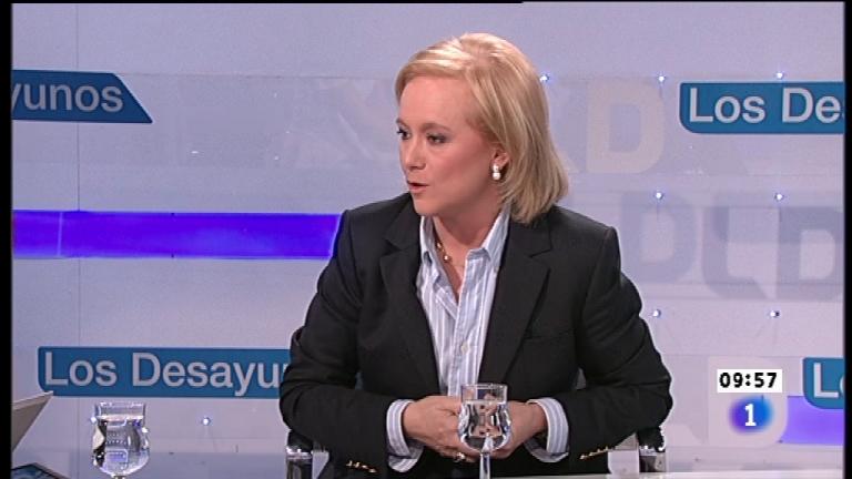 Los desayunos de TVE - Mercedes Fernández, candidata del PP a la Presidencia del Principado de Asturias