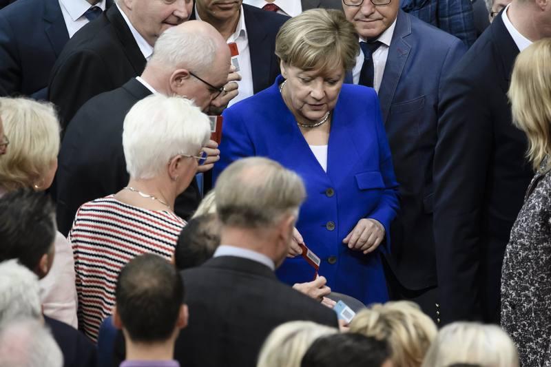 Merkel vota