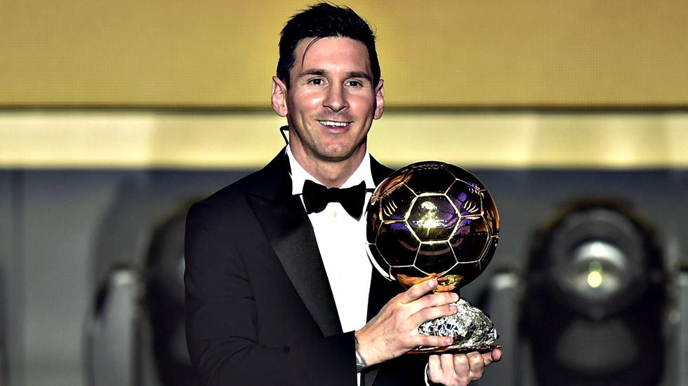 """Messi: """"Es especial después de dos años mirando cómo Cristiano ganaba"""""""