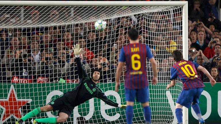 Messi falla un penalti decisivo