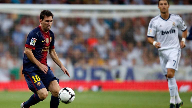 Messi mete al Barça en la eliminatoria (2-1)