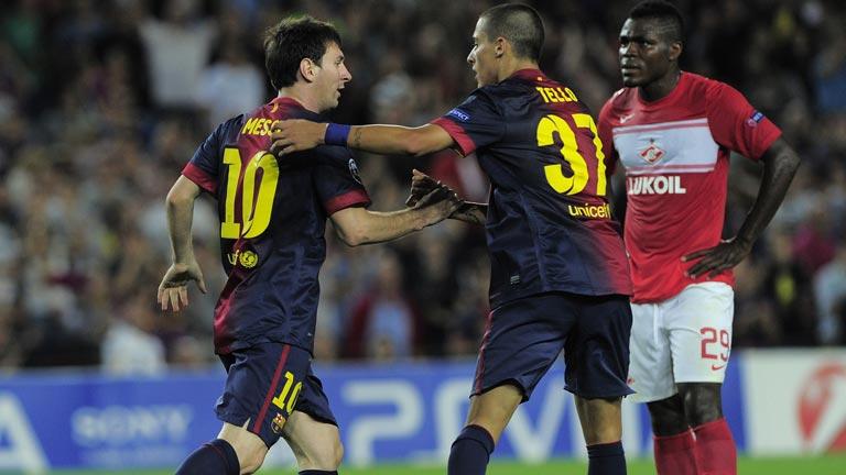 Messi vuelve a marcar la diferencia en la Champions