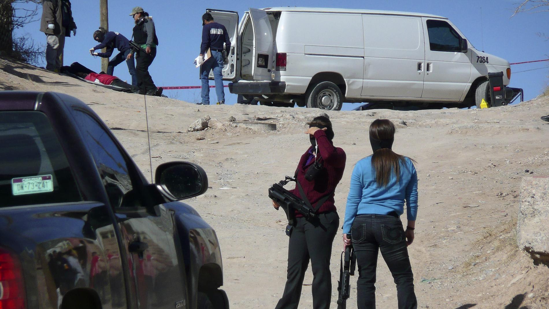 México registra en cuatro días mas asesinatos que en todo un año en España