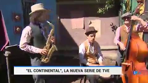 Telediario - Michelle Jenner y Álex García abren las puertas de 'El Continental'