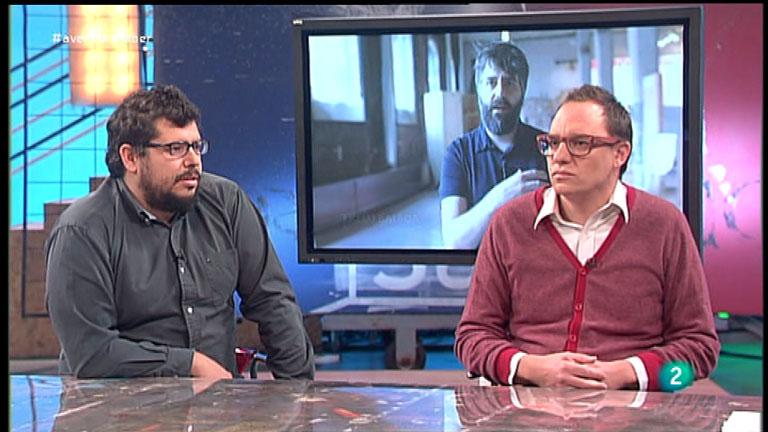 La Aventura del Saber. Miguel Jaenicke y Mauro Gil-Fournier. Vivero de Iniciativas Ciudadanas