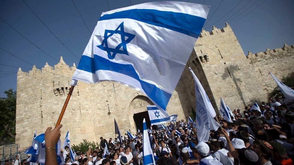 Miles de judíos nacionalistas celebran el Día de Jerusalén