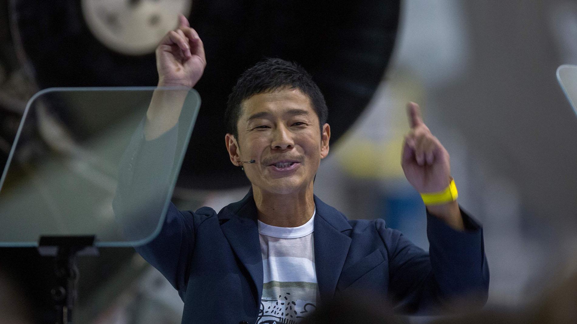 Un millonario japonés será el primer turista en viajar a la luna