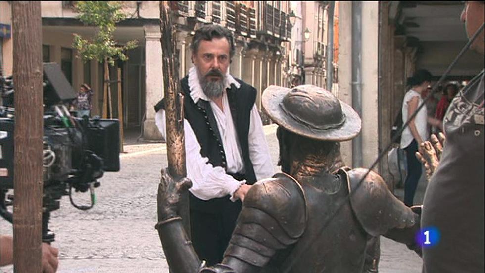 'El Ministerio del Tiempo' graba en Alcalá de Henares un capítulo con Cervantes