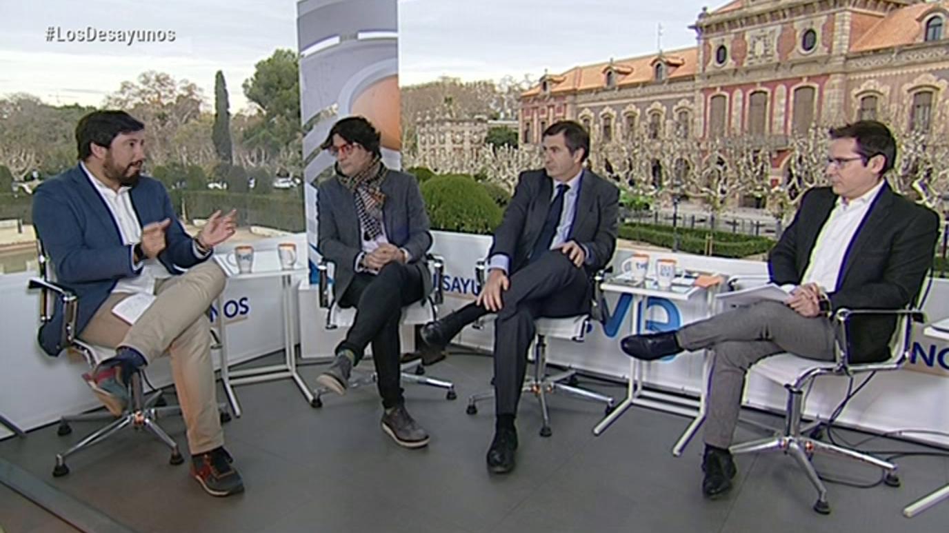 Los desayunos de TVE - Miquel Iceta, PSC. Xavier García Albiol, PPC