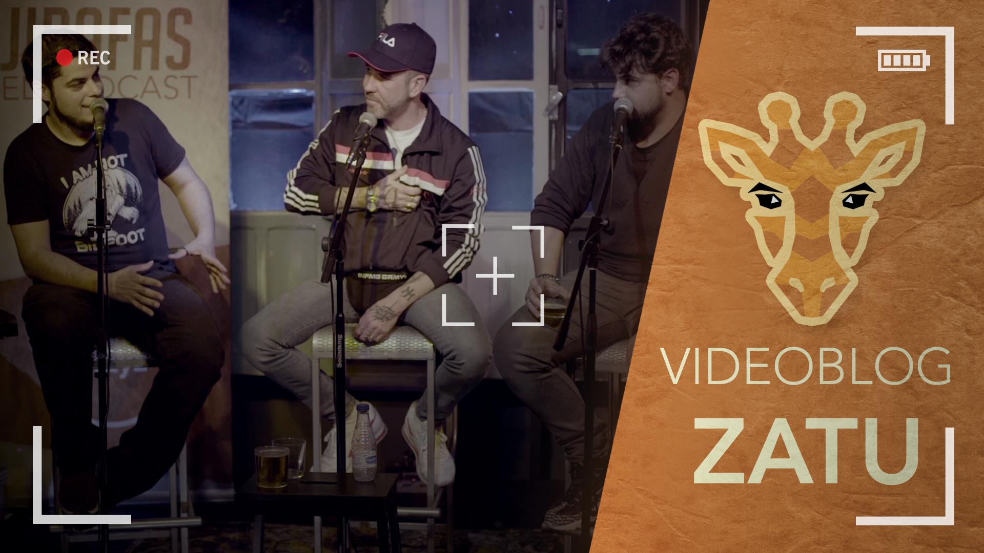 Jirafas 1 -  David Sainz, Juan Amodeo y Zatu