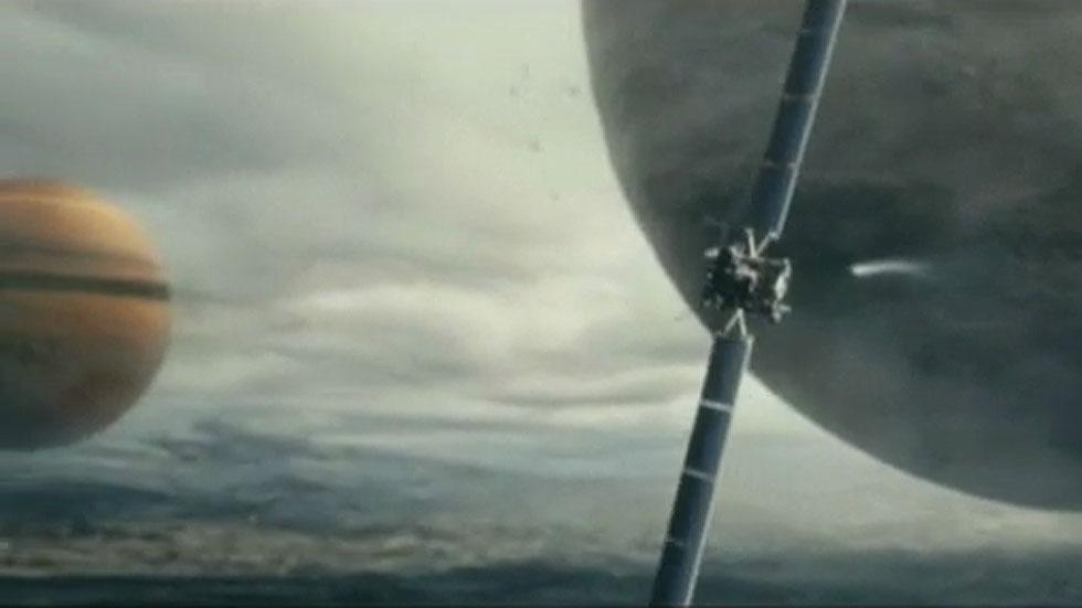 La película del primer aterrizaje sobre un cometa, un hecho histórico en un futuro lejano