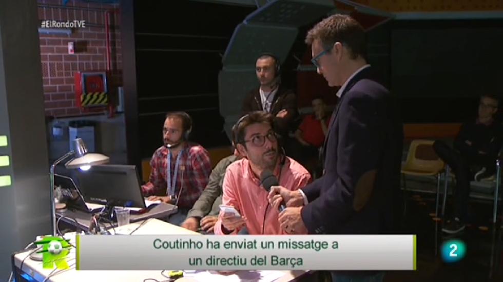 El Rondo - Missatge de Coutinho a un directiu blaugrana