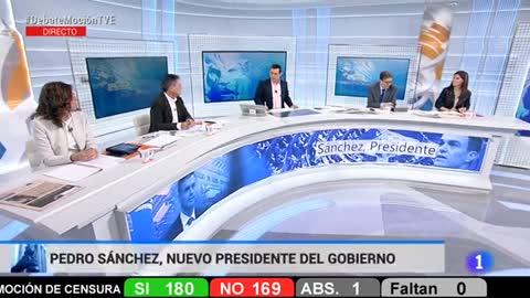 Especial informativo - Debate de la moción de censura del PSOE a Rajoy (9)