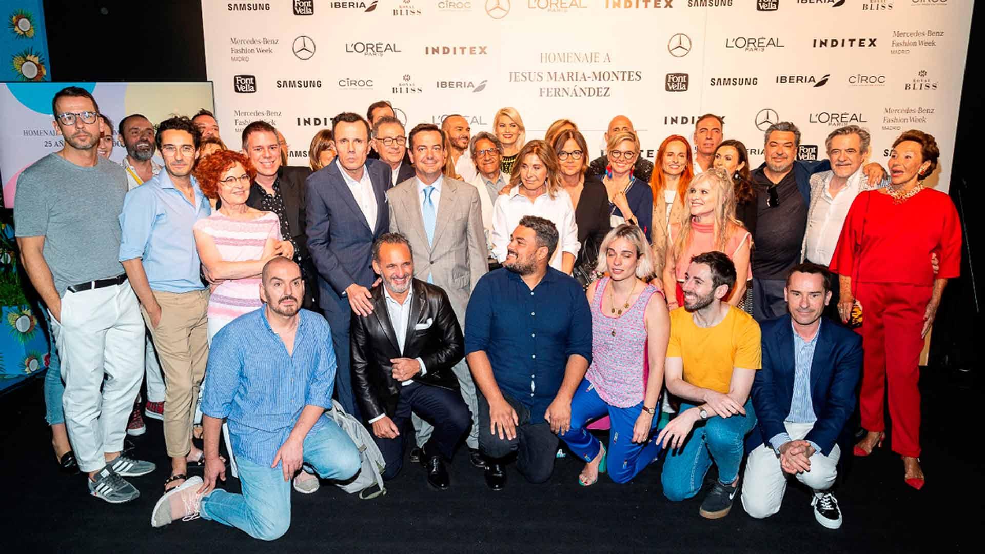 Flash Moda - La moda española homenajea a Jesús Mari Montes-Fernández por sus 25 años de entrega y apoyo