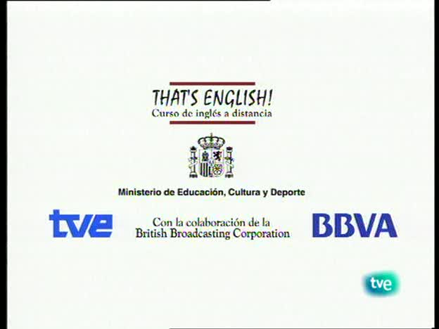 That's English - Establecer contacto social 1