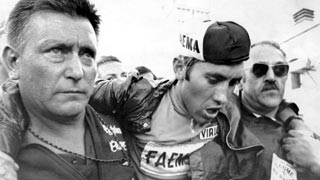 El Mont Ventoux puso a prueba a Eddie Merckx