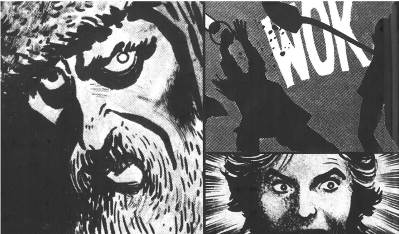 Montaje de viñetas de Alex Toth