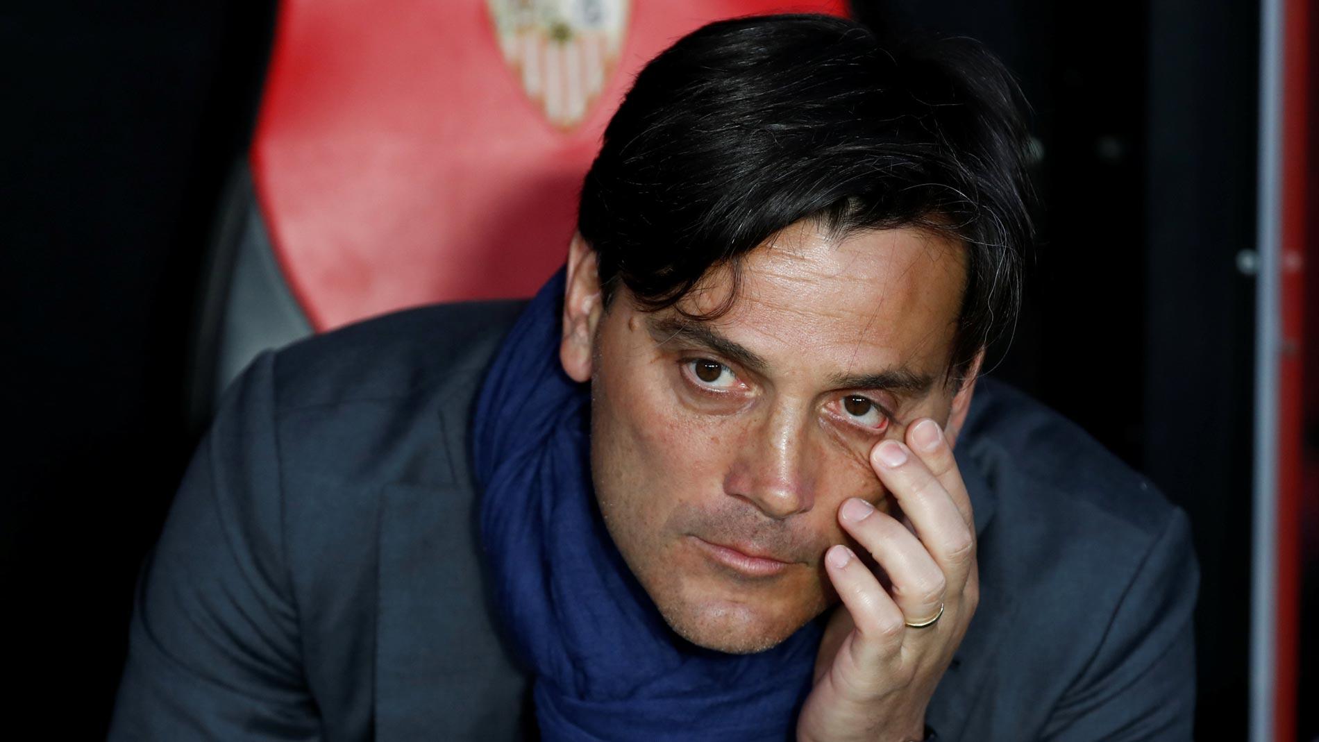 """Montella: """"Era el momento para darle una oportunidad a Soria"""""""