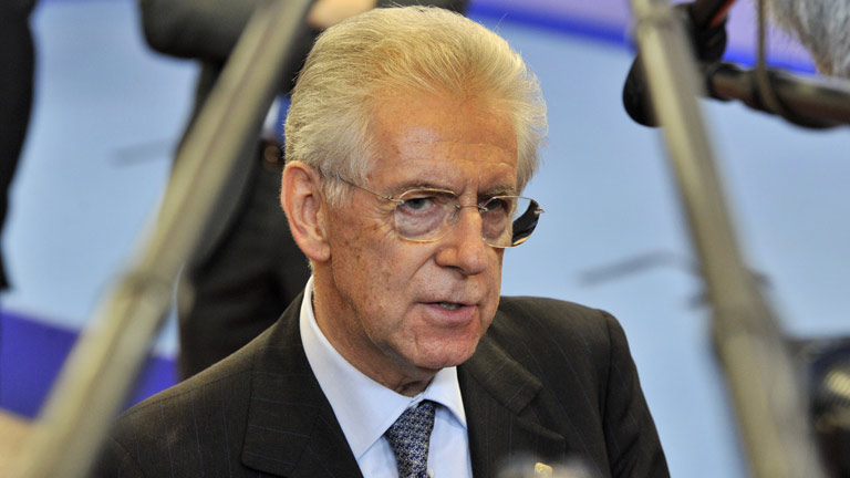 Monti informa de la recapitalización directa a la banca