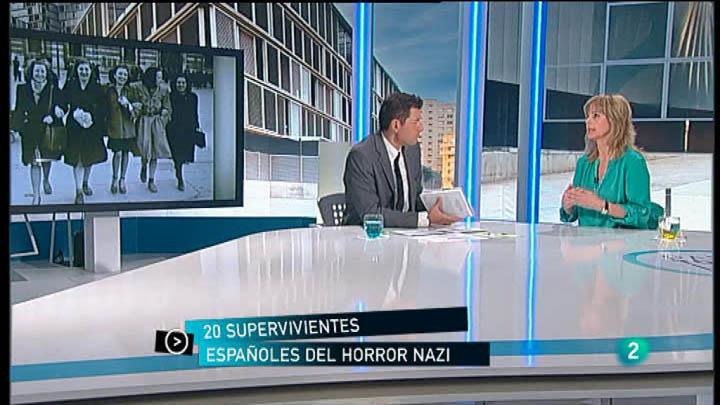 """Para Todos La 2 -  Entrevista Montserrat Llor, """"Vivos en el averno nazi"""""""