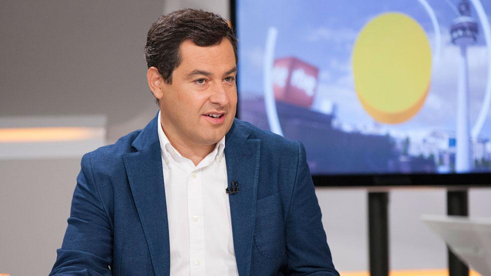 """Moreno (PP) considera que """"no tendría sentido"""" que Díaz no liderase el PSOE """"después de la que ha montado"""""""