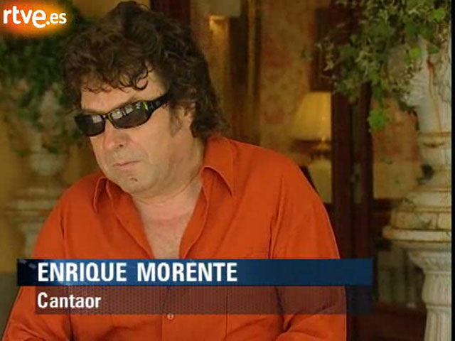 """Enrique Morente presenta  su último disco """"El pequeño reloj"""""""