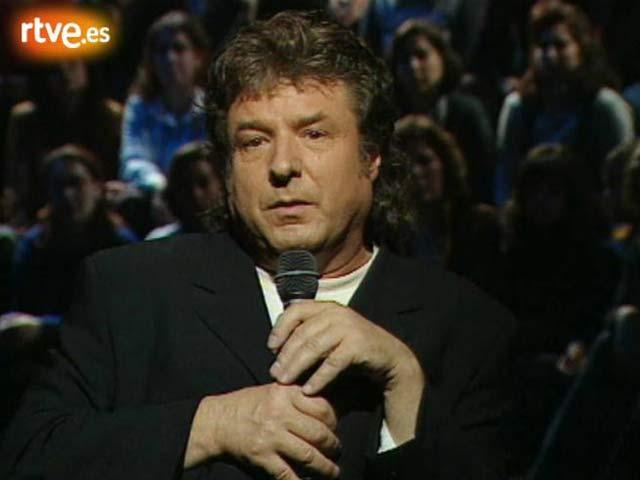 Enrique Morente con Miguel Bosé en 'Séptimo de caballería' (1999)
