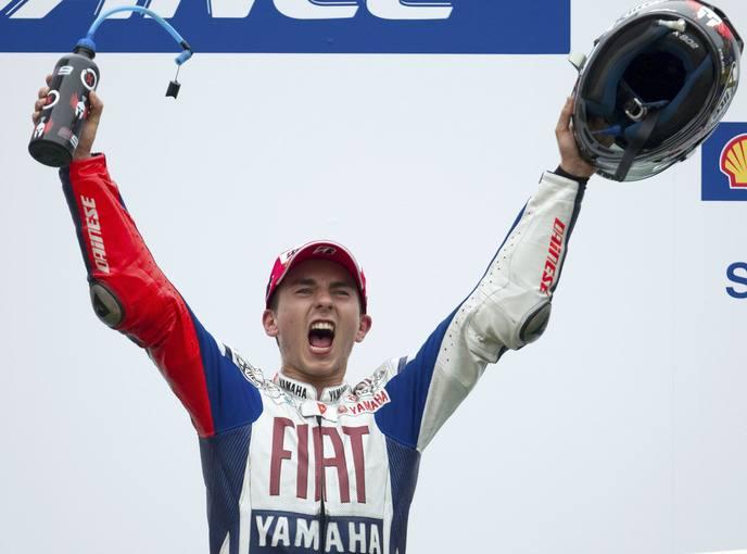 Jorge Lorenzo, campeón del mundo de MotoGP 1286705969667