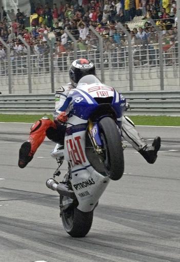 Jorge Lorenzo, campeón del mundo de MotoGP 1286705969623