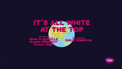 Todo es blanco en la cima