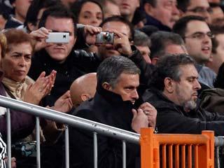 Ver vídeo  'Mourinho, a la grada dos partidos'