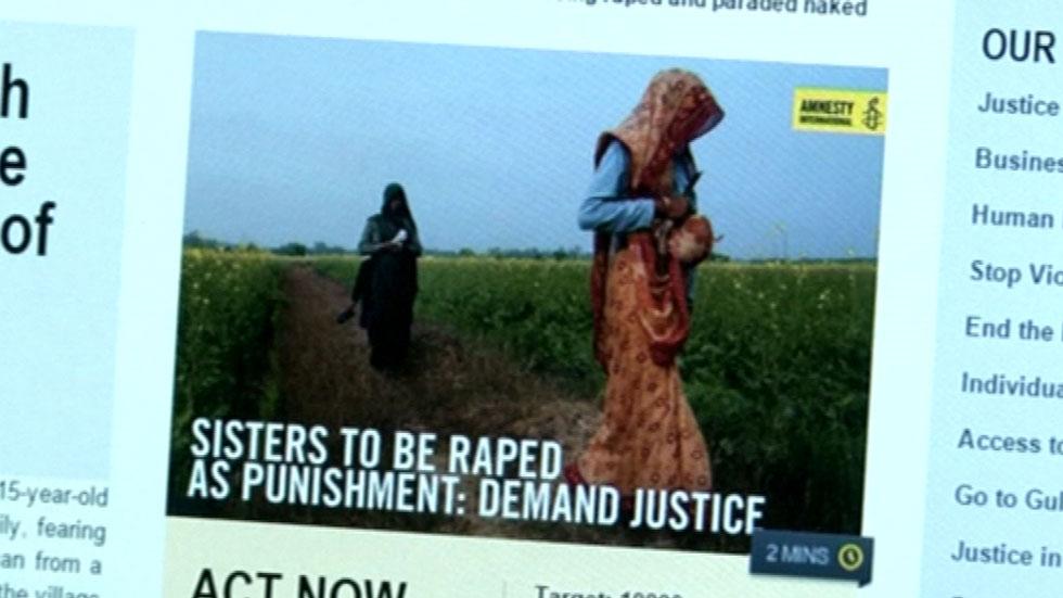 Condenan a dos hermanas en india a ser violadas por un for Casadas follando en la cocina