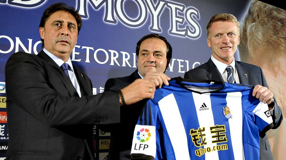 Moyes ya dirige a la Real Sociedad
