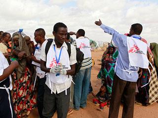 """""""MSF es una de las pocas ONG que se atreve a estar en Dadaab"""""""